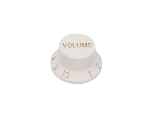 Volume Knopf für Strat, weiß