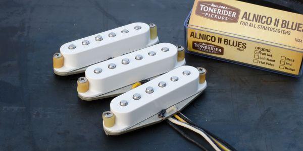 TONERIDER Alnico II Blues Pickups, Set, TRS4
