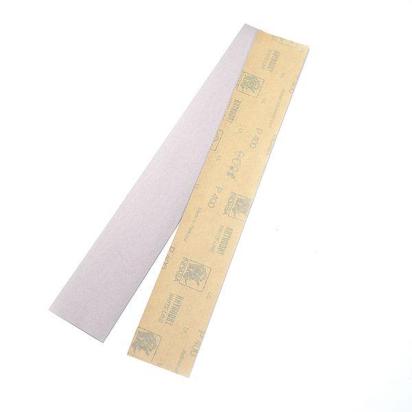 Schleifpapier für Bundabricht Block, 2 Stück